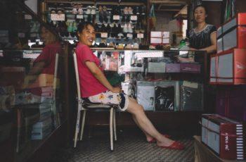 Compras no mercado de Yiwu
