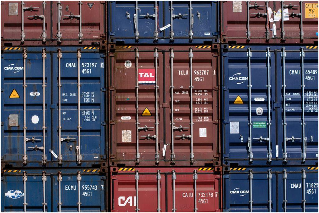 Como funciona containers compartilhados da China